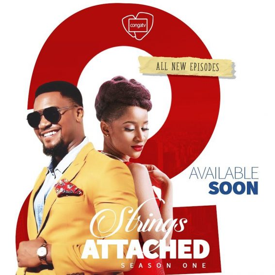 "Will you be watching? Adesua Etomi & Kunle Remi star in ""Two Strings Attached""!"