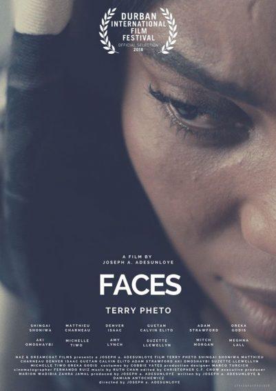 Oreka Godis and Terry Pheto to Premiere 'Faces' at the Durban International Film Festival!