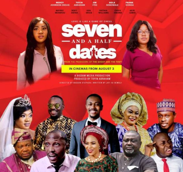 "NTA: Watch trailer for ""Seven and the Half Dates"" featuring Mercy Johnson, Jim Iyke and Sola Shobowale"