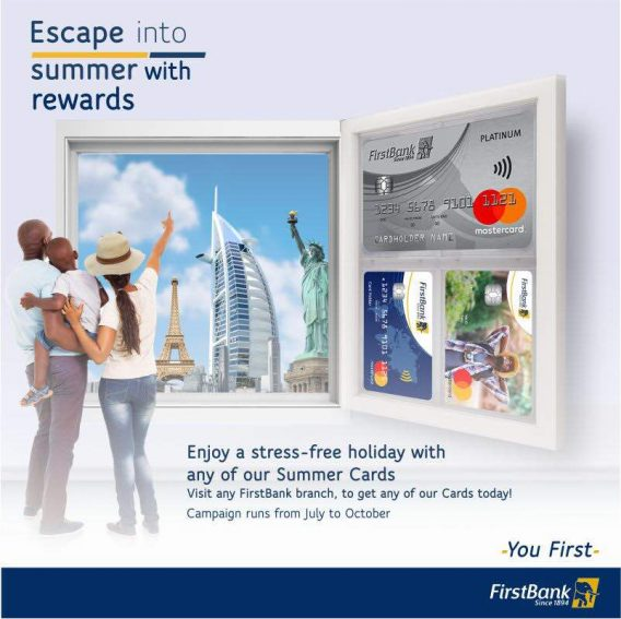 Get The Accolades You Deserve With #FirstBank Master Card!
