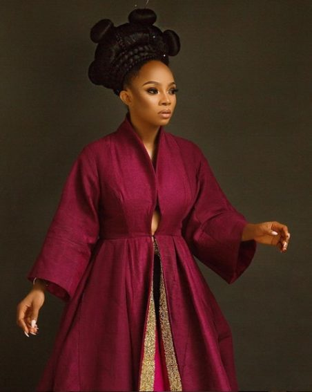 "Toke Makinwa lands another movie role as Go-Go in ""Foreigner's God""!"