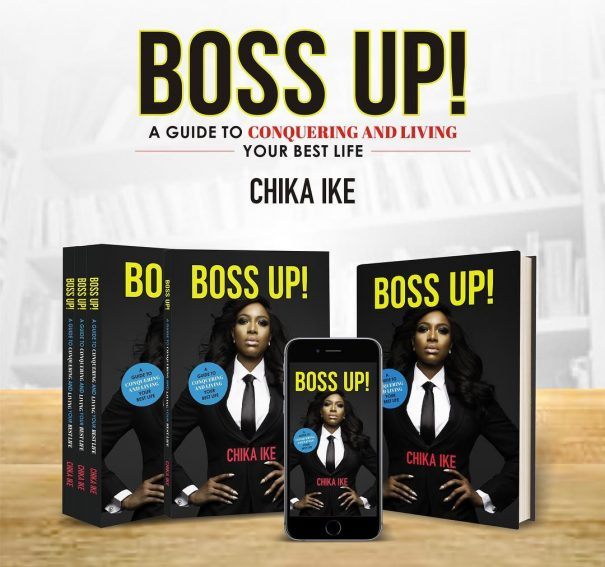 "Chika Ike set to release book ""Boss Up""!"