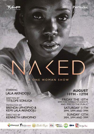 Kemi 'Lala' Akindoju Bares It All in Naked!