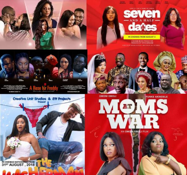 Top 5 Nollywood movies Coming to the cinemas this August!