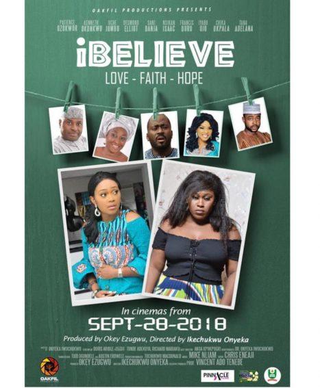 New Trailer: Watch Uche Jombo, Kenneth Okonkwo, Patience Ozokwo in 'I Believe'!