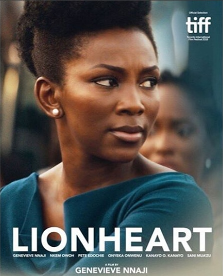 "Genevieve Nnaji releases Poster for ""Lion Heart""."