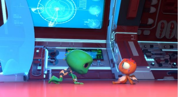 #NTA: Anthill releases first teaser of animation film, Frogeck!