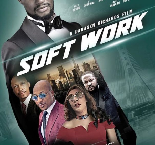 #NewTrailerAlert | Alexx Ekubo, Frank Donga & Shaffy Bello Star In Darasen Richards' 'Soft Work'
