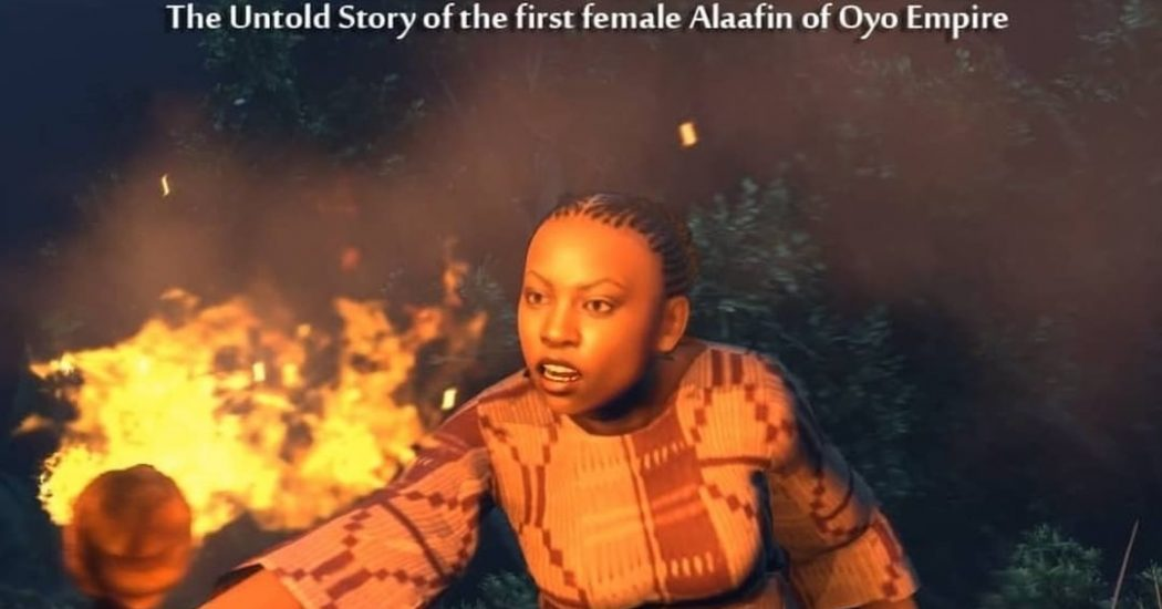 Watch the first snippet from Akin Alabi's animation 'The Legend of Oronpoto'