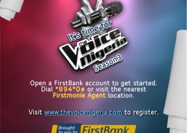 FirstBank Sponsors The Voice Nigeria!