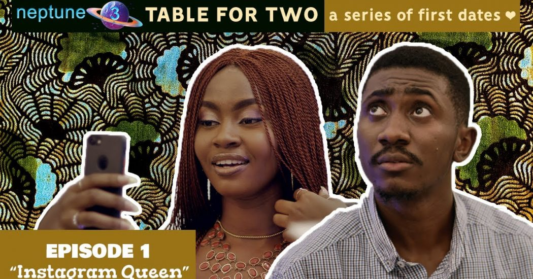 Watch the pilot episode of Neptune3's new mini series 'Table for Two: A Series of First Dates'