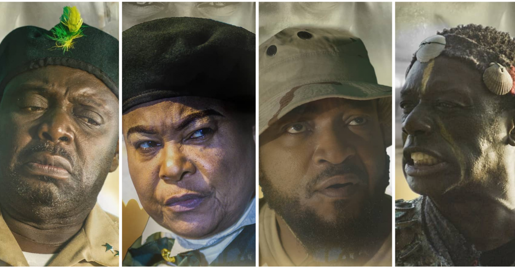 Teasers and character posters arrive for star-studded war tale, 'Pillars of Africa'