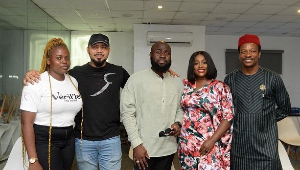 Ramsey Nouah, Chris Odeh, Lasisi Elenu & Nonso Kalango Team Up For 'Verified'